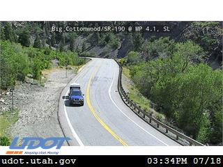 Big Cottonwood Canyon at Dogwood