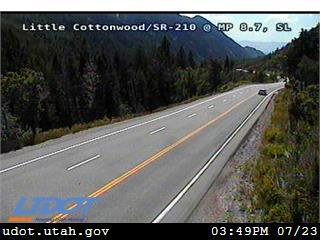 Little Cottonwood at White Pine